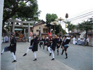2013.9.9金比羅さん波折神社奉納