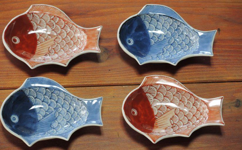 鯛の豆皿。
