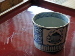 染付宝珠文蕎麦猪口(藤吉憲典)