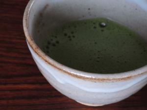 花祭窯でお抹茶