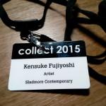 COLLECT2015 ロンドンに行って参りました。