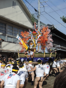 津屋崎祇園山笠2015