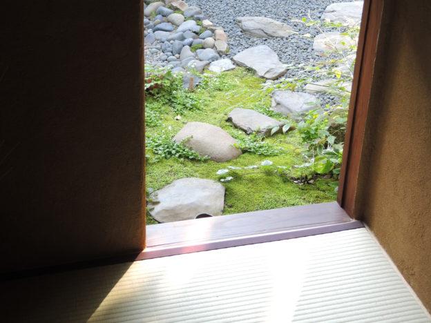 花祭窯の茶室「徳り庵」