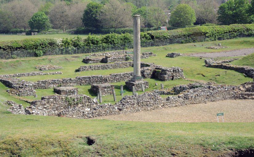 ロンドン6日目(1)ローマ時代の遺跡。