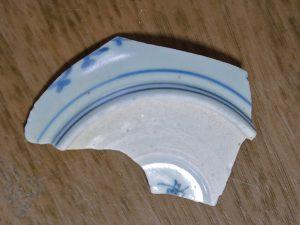 津屋崎陶片ミュージアム:丁寧な染付