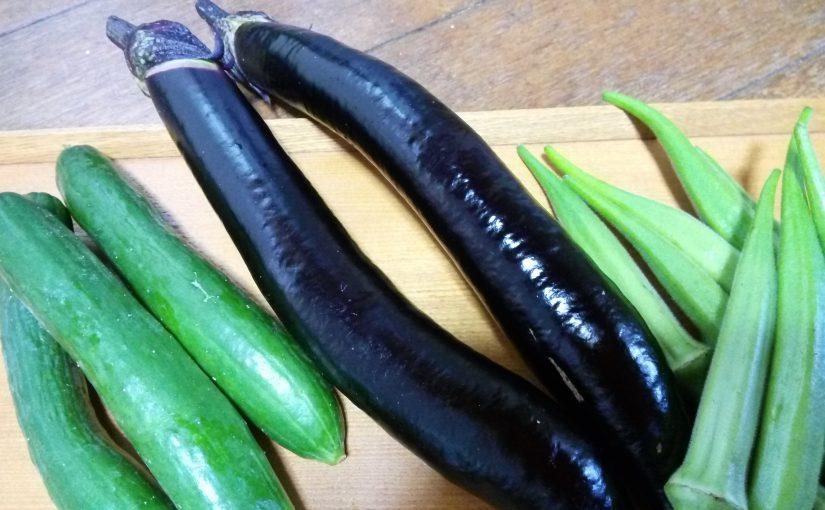 おいしい野菜の贅沢。