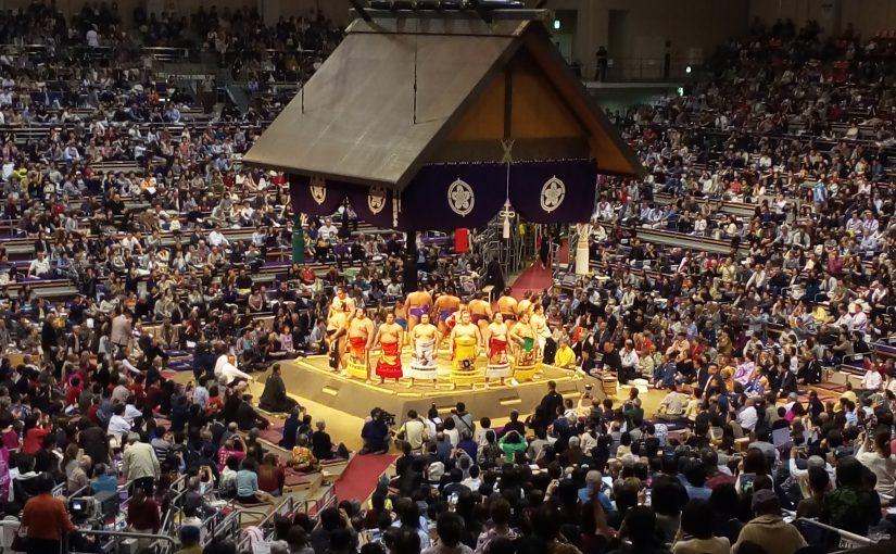 恒例!大相撲九州場所。
