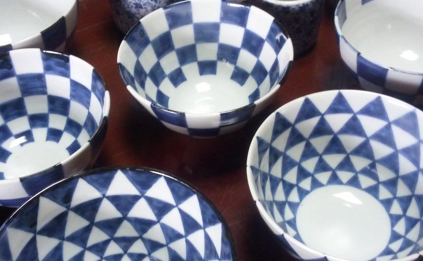 鹿児島・壺中楽さんでの藤吉憲典 磁器展、本日初日です。