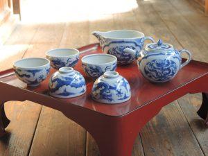 藤吉憲典の中国茶器。