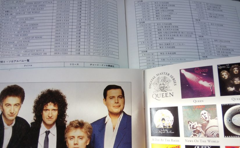 Queen Greatest Hits解説より