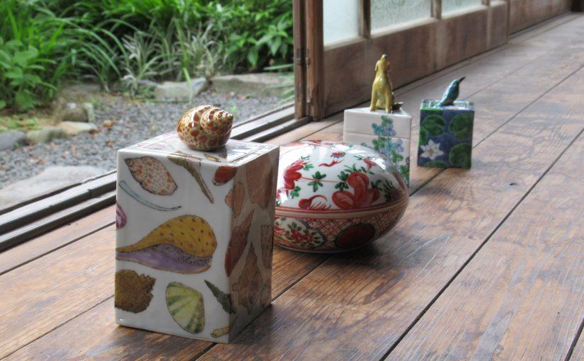 藤吉憲典の陶箱。