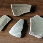 津屋崎陶片ミュージアム:H290620青磁いろいろ。