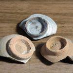 津屋崎陶片ミュージアム:H290630土ものの高台。