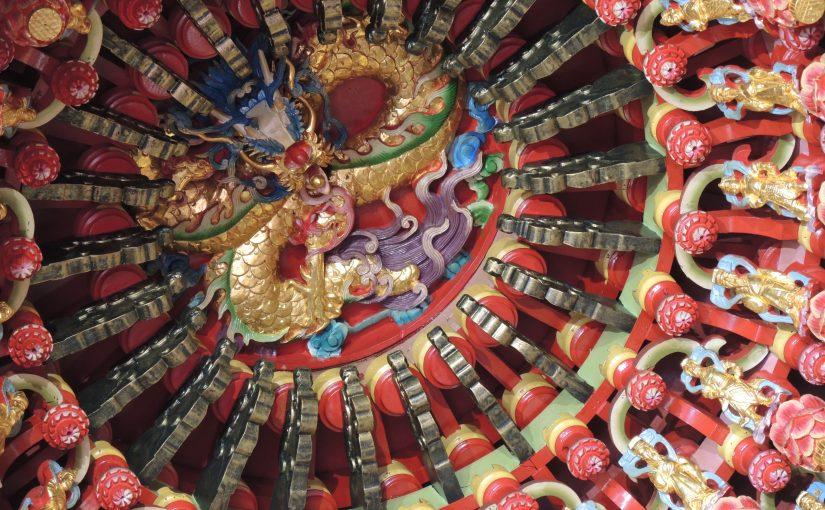 続々・台湾訪問。寺社の華やかさ。