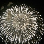 花火大会でした。