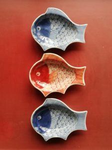 鯛の豆皿 藤吉憲典