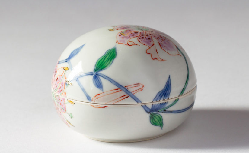 The beauty of Japanese porcelain ; The works by Kensuke Fujiyoshi (004)