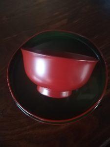 安比塗の椀(暮らし用品さんにて)