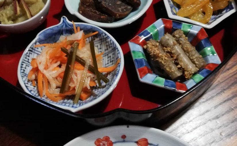 小皿豆皿があれば、おせち料理が格好良く決まる。