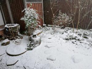 花祭窯 雪景色