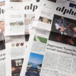 英字新聞「The Japan Times Alpha」に追い回されています。