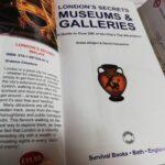 読書『LONDON'S SECRETS MUSEUM & GALLERIES』(Survival Books)