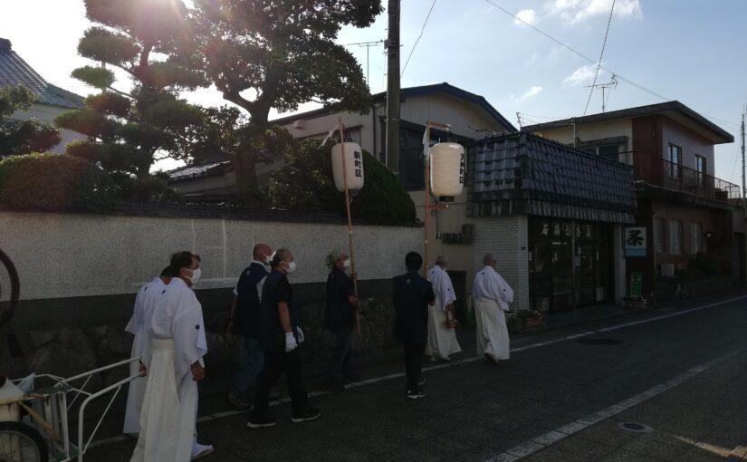 波折神社のおくんちでした。